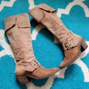 Dr. Scholls knee high boots size 6